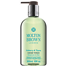 Buy Molton Brown Mulberry & Thyme Hand Wash, 300ml Online at johnlewis.com