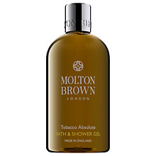 Buy Molton Brown Tobacco Absolute Bath & Shower Gel, 300ml Online at johnlewis.com
