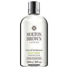 Buy Molton Brown Coco & Sandalwood Body Wash, 300ml Online at johnlewis.com