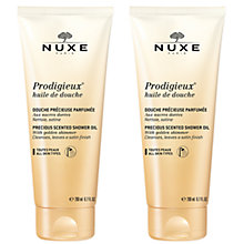 Buy NUXE Prodigieux® Shower Oil with Golden Shimmer Duo Online at johnlewis.com