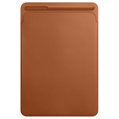 "Buy Apple Leather Sleeve for 10.5"" iPad Pro Online at johnlewis.com"