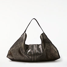 Buy AND/OR Shadi Leather Slouch Hobo Bag Online at johnlewis.com