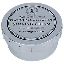 Buy Taylor of Old Bond Street Platinum Collection Shaving Cream Online at johnlewis.com