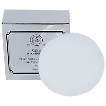 Buy Taylor of Old Bond Street Platinum Collection Shaving Soap Refill, 100g Online at johnlewis.com