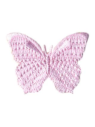 La Stephanoise Iron On Butterfly Motif, Pink