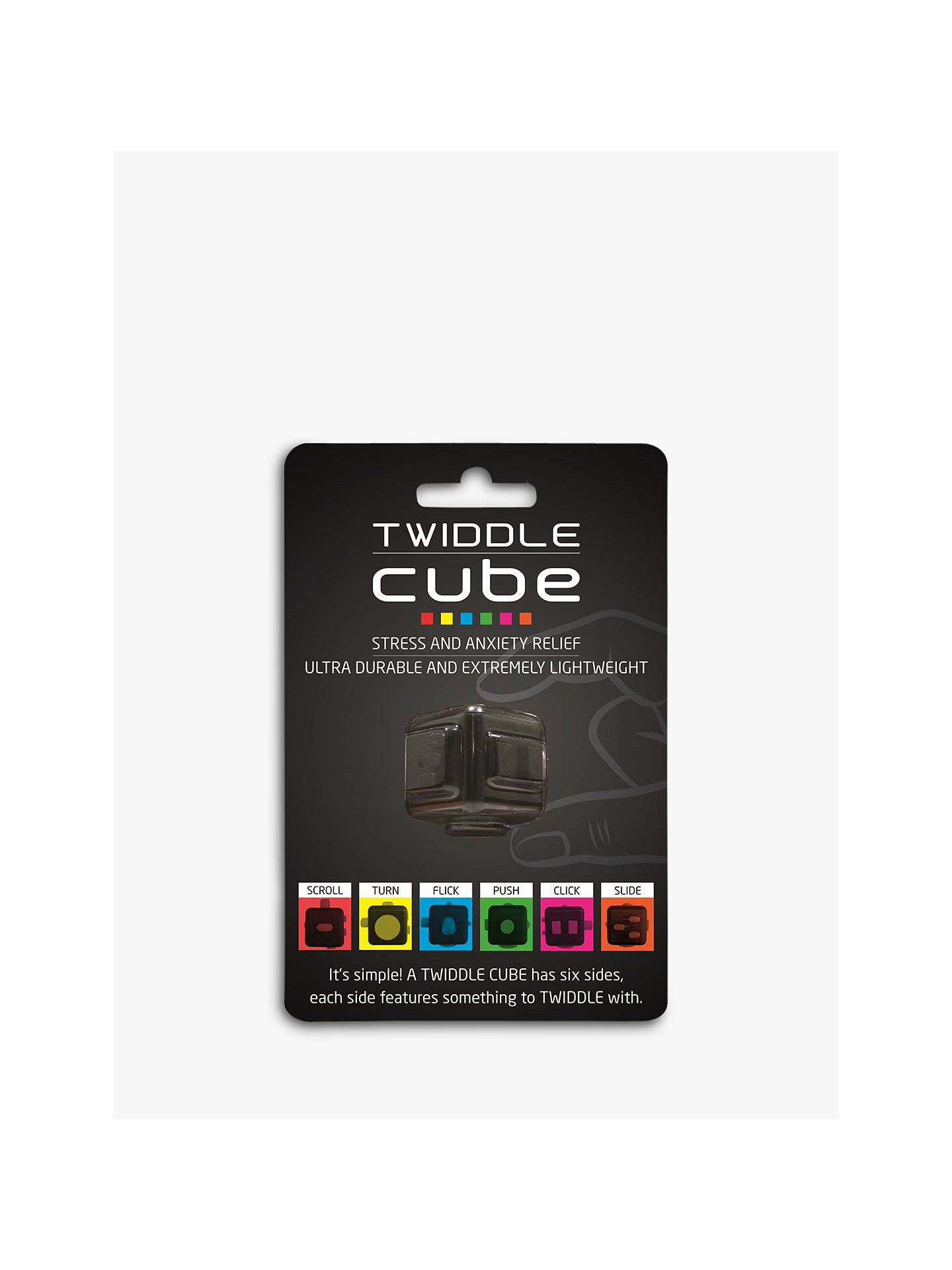 Buy RED5 Twiddle Cube, Black/Red Online at johnlewis.com