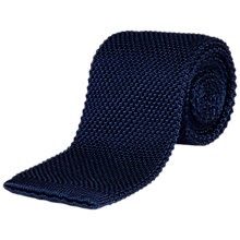 Buy Jaeger Silk Knitted Tie Online at johnlewis.com