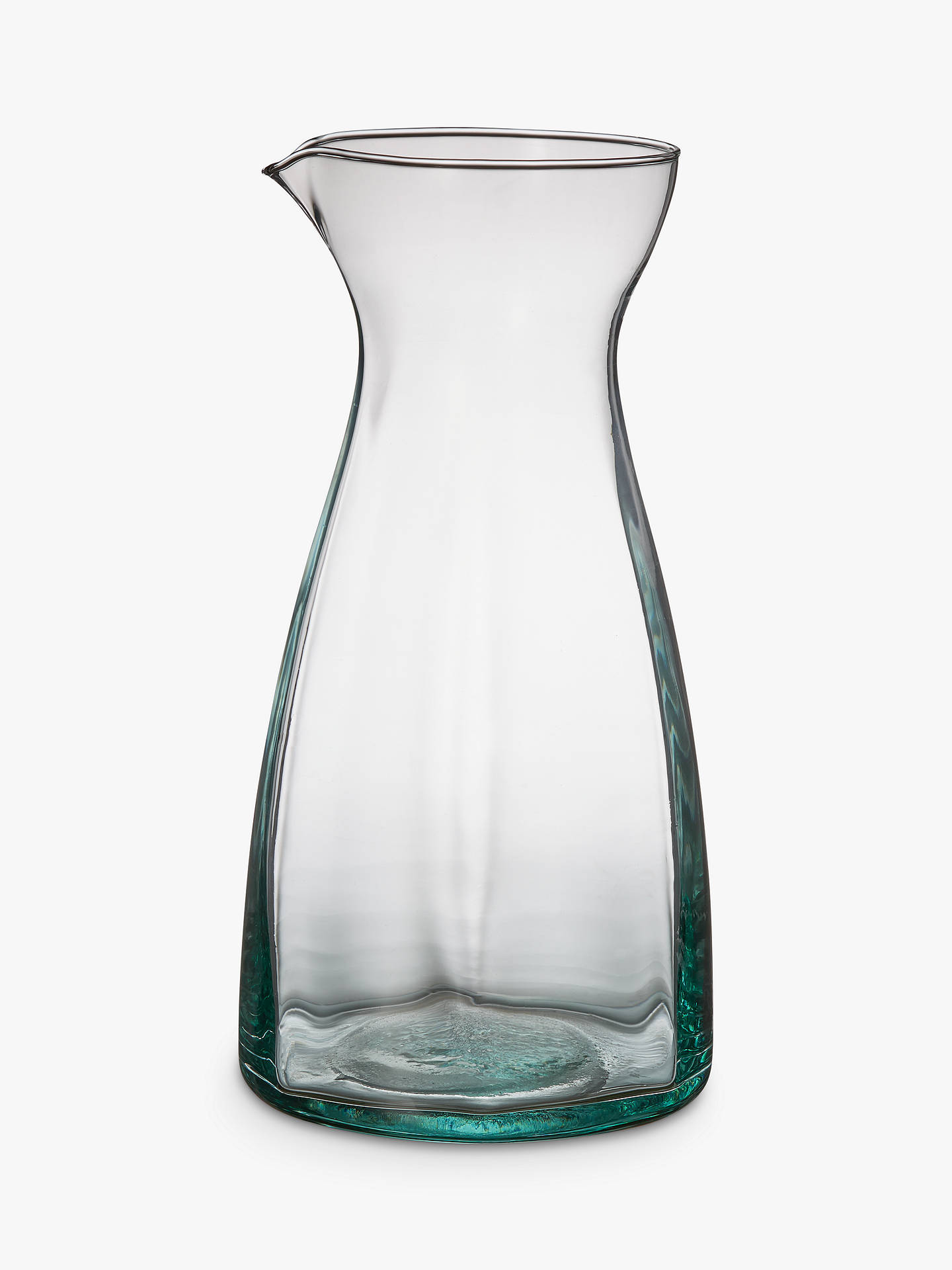 BuyLEON Recycled Glass Jug, Clear, 1.3L Online at johnlewis.com