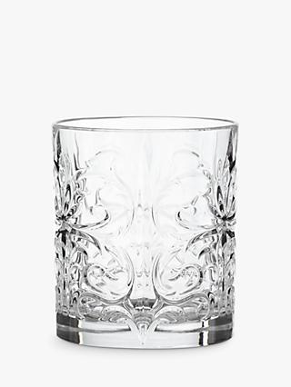 John Lewis & Partners Crystal Glass Cocktail Tumblers, Clear, 337ml, Set of 4