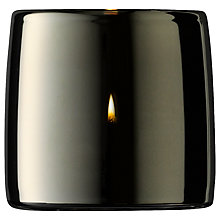 Buy LSA International Metallic Tealight Holder, Platinum Online at johnlewis.com