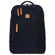 Buy Bric's X Travel Business Backpack, Blue Online at johnlewis.com