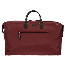 Buy Bric's X Travel Medium Holdall, Bordeaux Online at johnlewis.com