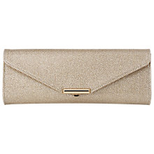 Buy L.K. Bennett Cecilia Clutch Bag, Champagne Online at johnlewis.com