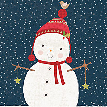 Buy Almanac Bobble Hat Charity Christmas Cards, Pack of  6 Online at johnlewis.com