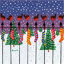 Buy Almanac Fill your Stockings Charity Christmas Cards, Pack of 8 Online at johnlewis.com