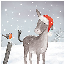 Buy Almanac Christmas Friends Charity Christmas Cards, Pack of 6 Online at johnlewis.com