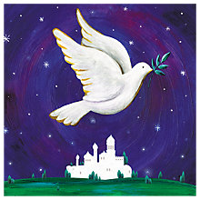 Buy Almanac Dove Over Bethlehem Charity Christmas Cards, Pack of 6 Online at johnlewis.com