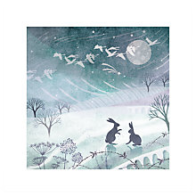 Buy Almanac Winter Rabbits Charity Christmas Cards, Pack of 6 Online at johnlewis.com