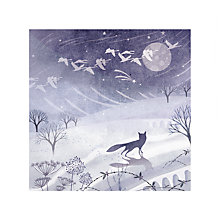 Buy Almanac Frosty Fox Charity Christmas Cards, Pack of 6 Online at johnlewis.com