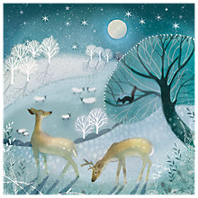 Buy Almanac Moonlight Magic Charity Christmas Cards, Pack of 8 Online at johnlewis.com