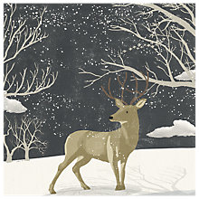 Buy Almanac Winter Stag Charity Christmas Cards, Pack of 6 Online at johnlewis.com