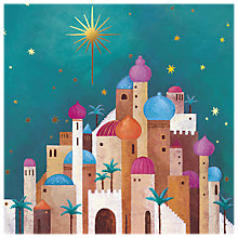 Buy The Almanac Gallery Star of Bethlehem Charity Christmas Cards, Pack of 8 Online at johnlewis.com