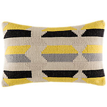 Buy Kas Phase Woven Cotton Cushion Online at johnlewis.com