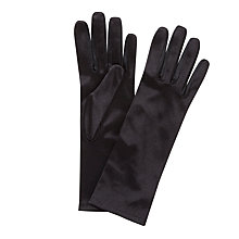 Buy John Lewis Short Satin Evening Gloves, One Size Online at johnlewis.com