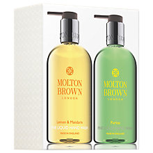 Buy Molton Brown Lemon & Mandarin and Puritas Hand Wash Set Online at johnlewis.com