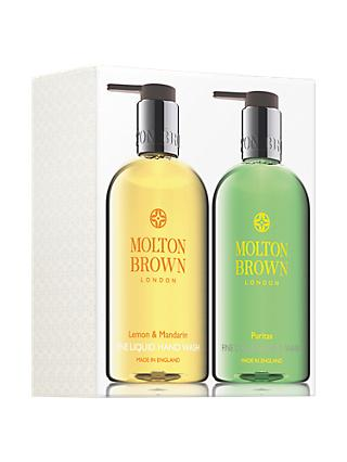 Molton Brown Lemon & Mandarin and Puritas Hand Wash Set