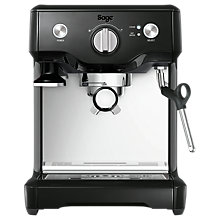 Buy Sage by Heston Blumenthal the Duo Temp Pro Espresso Coffee Machine, Black Online at johnlewis.com