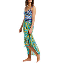 Buy White Stuff Pacific Leaf Sarong, Green Online at johnlewis.com