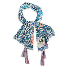Buy Gerard Darel Florence Silk Tassel Scarf Online at johnlewis.com