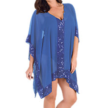Buy Chesca Sequin Detail Cover Up Online at johnlewis.com