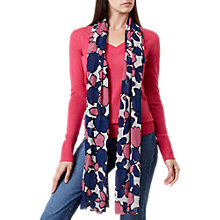Buy Hobbs Mira Cotton Scarf, Neutral/Multi Online at johnlewis.com