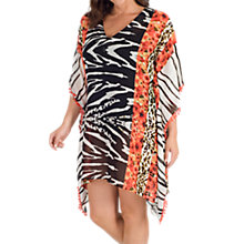 Buy Chesca Zebra Print Cover Up, Multi Online at johnlewis.com