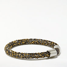 Buy John Lewis Sparkly Bracelet, Magma/Lead Online at johnlewis.com