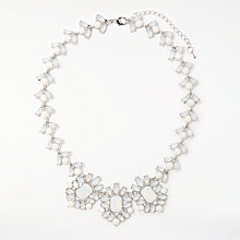 Buy John Lewis Statement Necklace, Silver/Multi Online at johnlewis.com