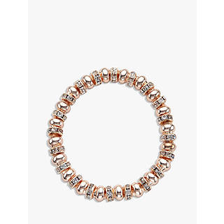 Genuine Rose Jewellery 18ct Rose Gold Plated multi coloured Crystal Quartz stones Bangle Bracelet With Swarovski Elements eQvRmZRmZz