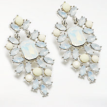 Buy John Lewis Statement Drop Earrings, Silver/Multi Online at johnlewis.com