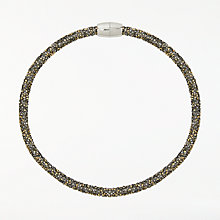 Buy John Lewis Sparkle Magnetic Necklace, Bronze Online at johnlewis.com