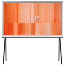 "Buy Samsung UE32LS001DU Medium Serif Full HD 1080p LED Smart TV, 32"", With Freeview HD, Built-In Wi-Fi & Exclusive Bouroullec Design, White Online at johnlewis.com"