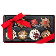 Buy Hotel Chocolat Christmas Pocket Selection, 90g Online at johnlewis.com