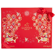 Buy Godiva 20 Assorted Christmas Chocolates, 245g Online at johnlewis.com