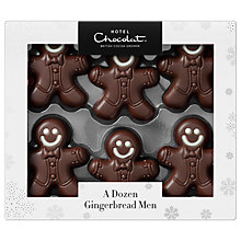 Buy Hotel Chocolat Dozen Gingerbread Men, 120g Online at johnlewis.com