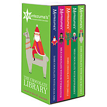 Buy Montezuma Lima Llama Christmas Chocolate Bar Library, 500g Online at johnlewis.com