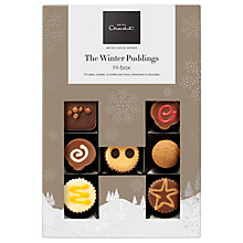 Buy Hotel Chocolat Winter Pudding H-Box, 190g Online at johnlewis.com