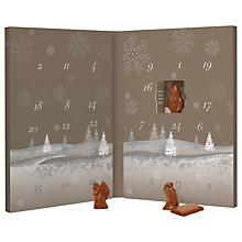 Buy Hotel Chocolat Caramel Chocolate Advent Calendar, 125g Online at johnlewis.com