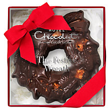 Buy Hotel Chocolat Small Cookie Wreath, 100g Online at johnlewis.com