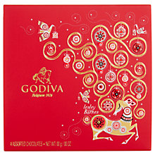 Buy Godiva Assorted Christmas Chocolates, 45g Online at johnlewis.com